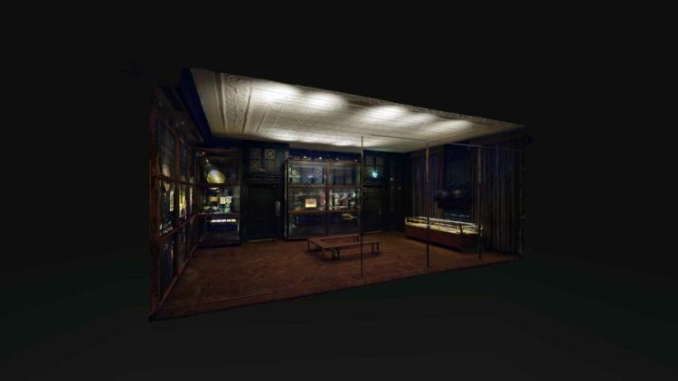 Japan Museum Siebold Huis Panoramakamer 01