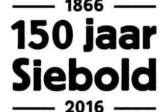 150 Jaar Siebold Zwart In Wit Kader