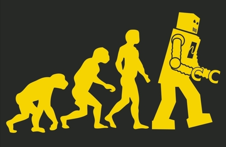 Human Robot Evolution