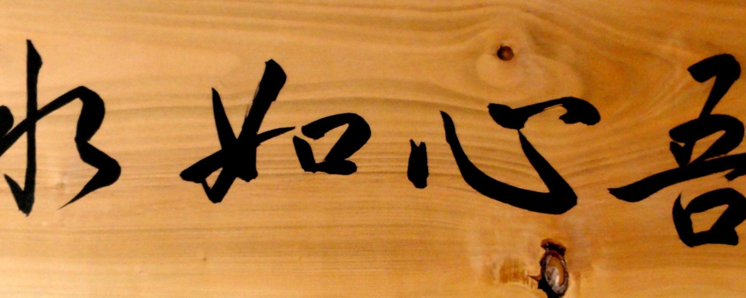 Workshop Kalligrafie Kaishinkan 4 2013 Kopie 2