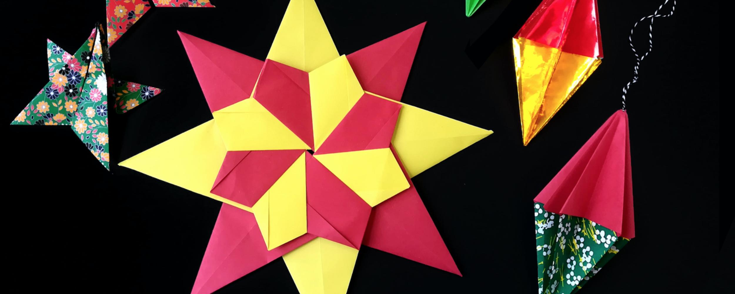Origami Ornamenten