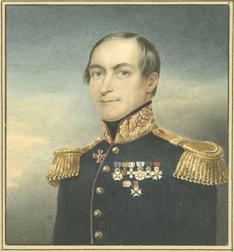 Portret Siebold