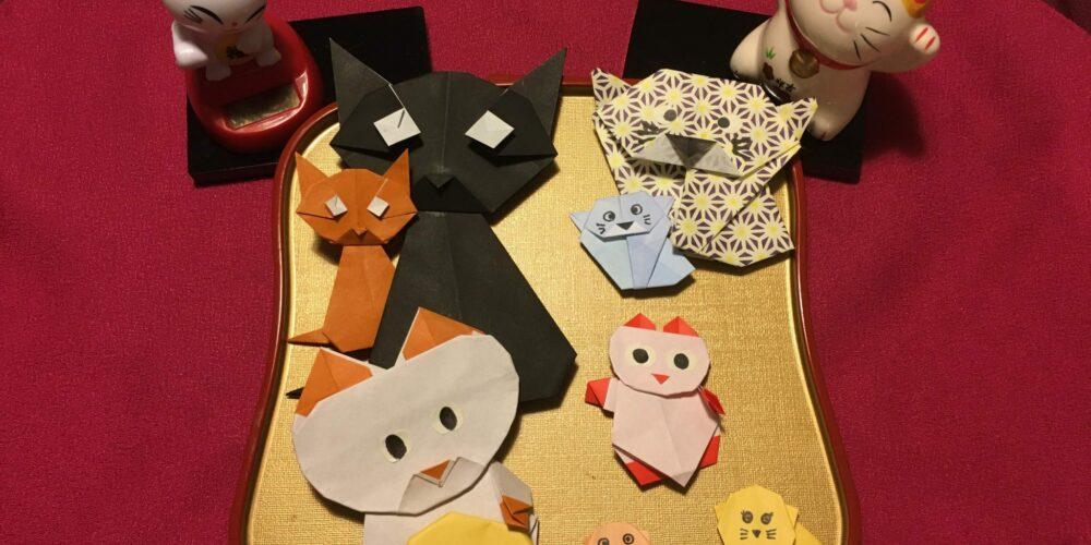 Kattenorigami