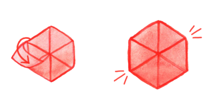 Hexagon envelop