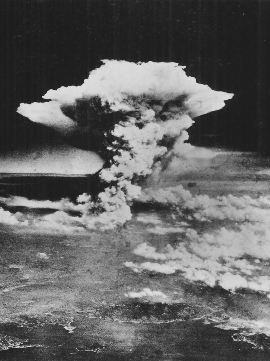 Uitsnede Bom Hiroshima